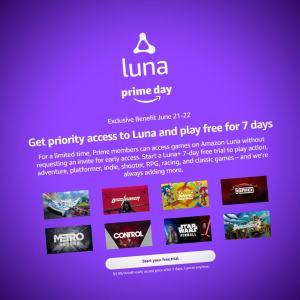 Amazon Luna : le cloud gaming arrive dans une semaine pour les abonnés Prime