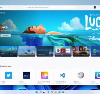 Windows 11 : voici les premières images du nouveau Microsoft Store