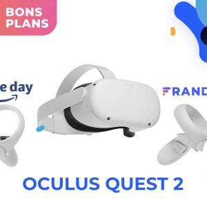 Oculus Quest 2 : le casque VR est un peu moins cher pour le Prime Day