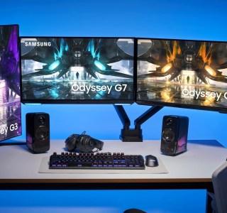 Samsung Odyssey G3, G5 et G7 : la nouvelle fournée d'écrans PC a désormais un prix
