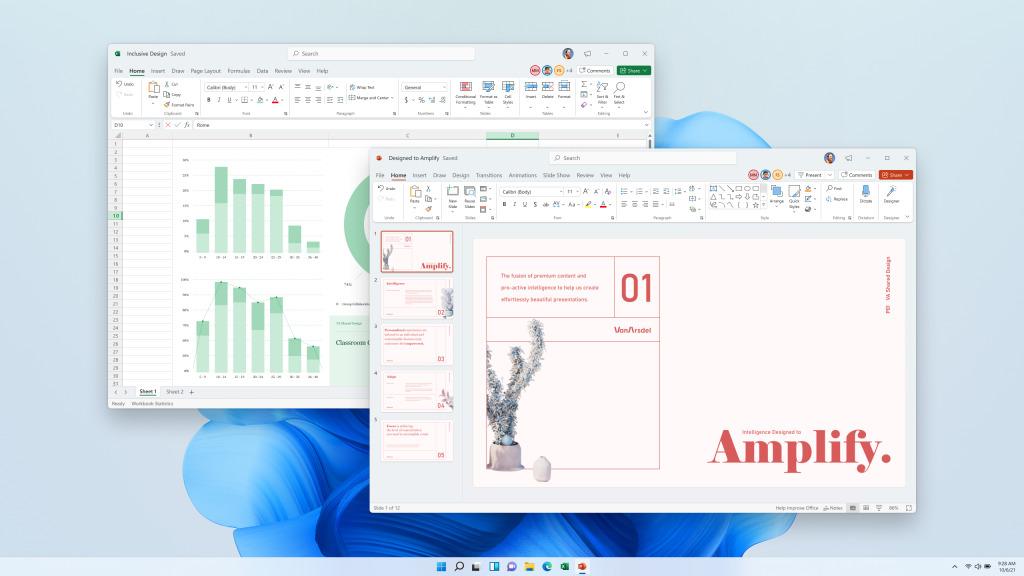 Word, Excel, PowerPoint… leur nouveau look arrive aussi sur Windows10