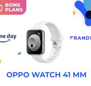 La montre connectée d'Oppo est encore plus abordable grâce au Prime Day