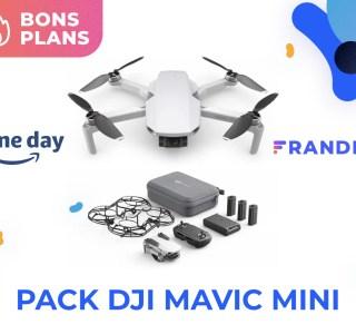 Le Prime Day permet d'économiser 150 € sur le pack DJI Mavic Mini Combo