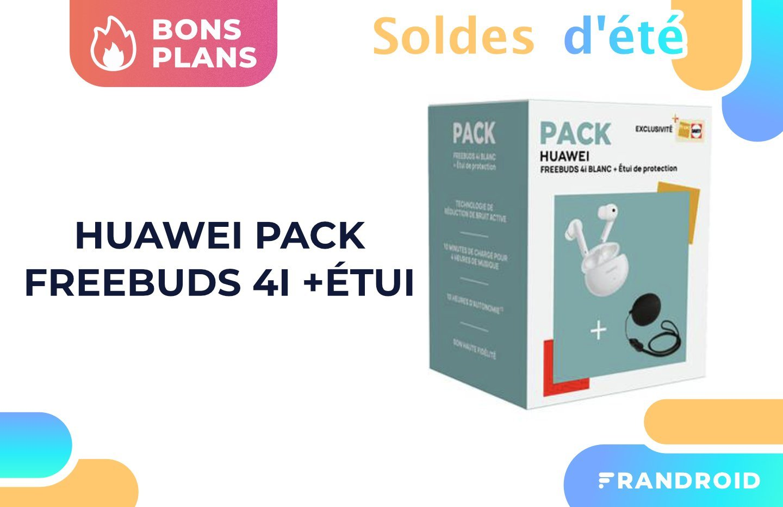 Les Huawei FreeBuds 4i se mettent dans un pack intéressant pour les soldes