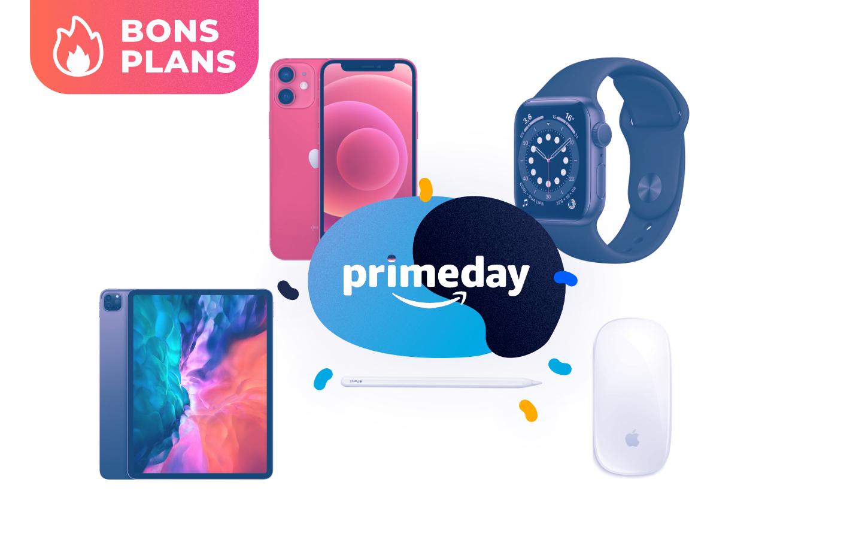 Les meilleurs produits Apple sont en forte promotion pour le Prime Day