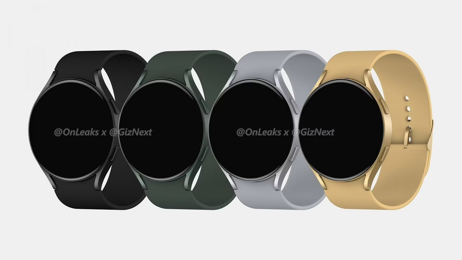 La Samsung Galaxy Watch Active 4 se montre en images: l'heure est aux petits changements