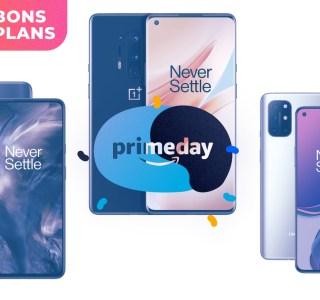 Le Prime Day fait baisser le prix des meilleurs smartphones OnePlus