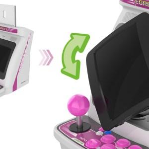 Une mini borne d'arcade pour redécouvrir Space Invaders et Bubble Bobble