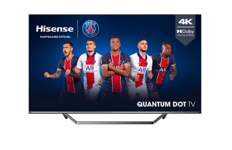 Le TV 4K QLED 50 pouces de Hisense ne coûte pas plus de 400 € aujourd'hui