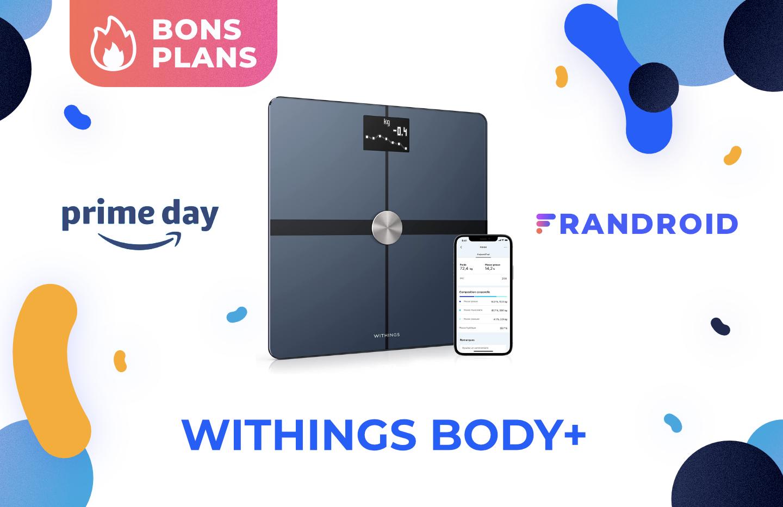 Pour 65 €, vous ne trouverez pas meilleure balance connectée que la Withings Body+