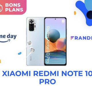 Prix encore plus canon pour le Xiaomi Redmi Note 10 Pro à la fin du Prime Day