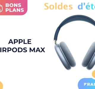 Les AirPods Max passent sous les 500 € pendant les soldes