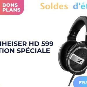 En solde, le casque Sennheiser HD 599 est à moins de 50 % sur Amazon