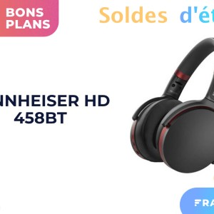 Le casque à réduction de bruit active de Sennheiser est à moitié prix