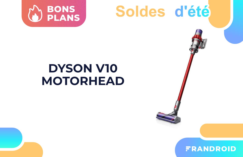 Dyson V10 Motorhead : cet aspirateur balai perd 50 euros pendant les soldes