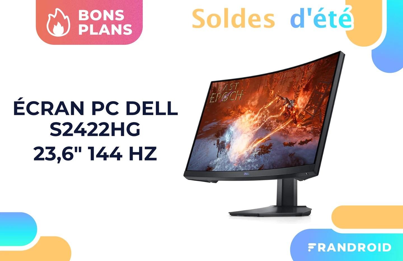Cet écran gaming Dell de 23,6″ (144 Hz) ne coûte pas plus cher que 150 euros pendant les soldes