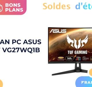 Excellent prix pour cet écran gaming QHD et 165 Hz pendant les soldes