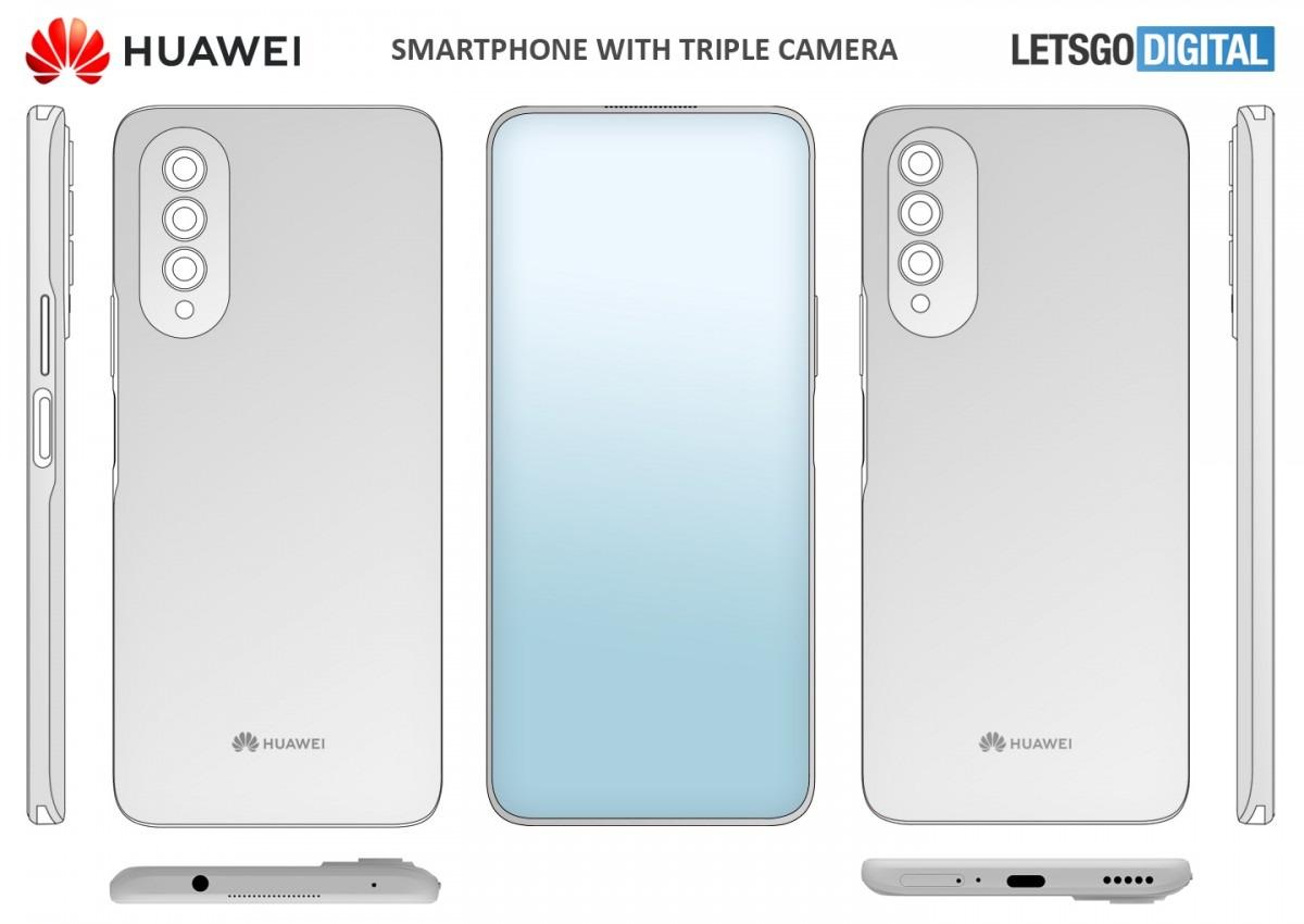 Huawei planche lui aussi sur un smartphone avec une caméra sous l'écran