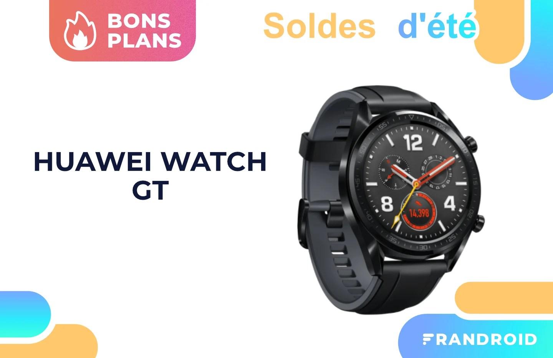 Huawei Watch GT : cette montre connectée est soldée à moins de 50 €