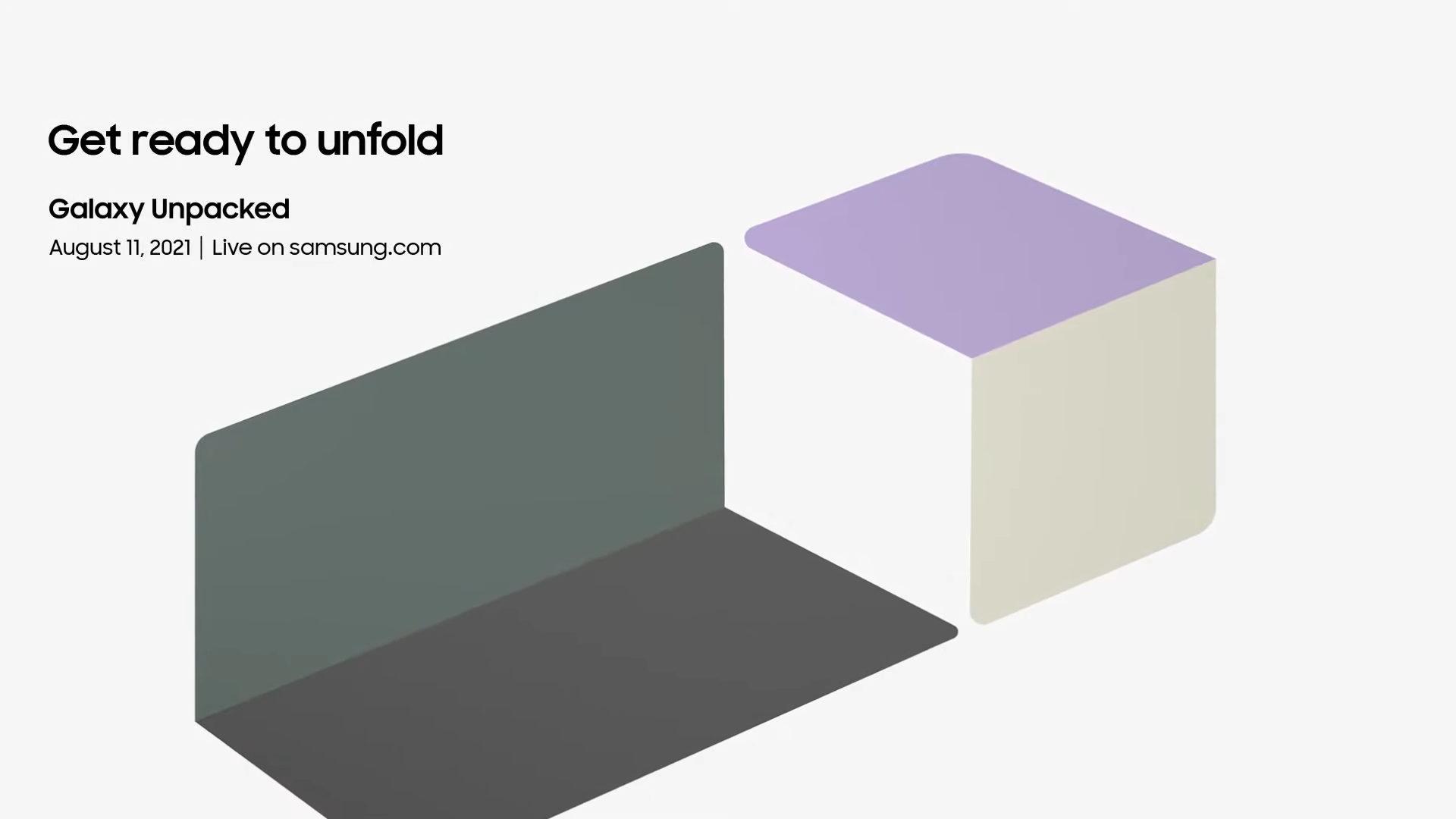 Galaxy Unpacked : une date pour la présentation des Samsung Galaxy Z Fold 3 et Z Flip 3