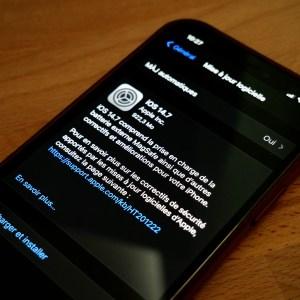 iOS 14.7 est disponible : vous allez enfin savoir si l'air est bon autour de vous