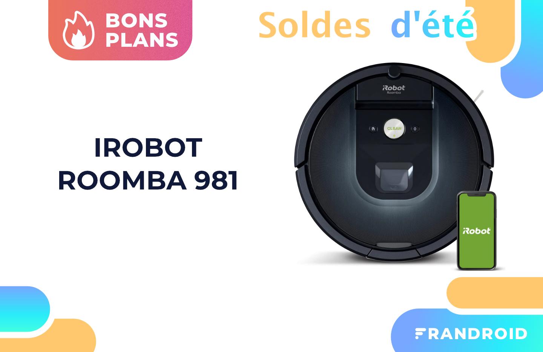 L'excellent aspirateur iRobot Roomba 981 est moins cher pendant les soldes