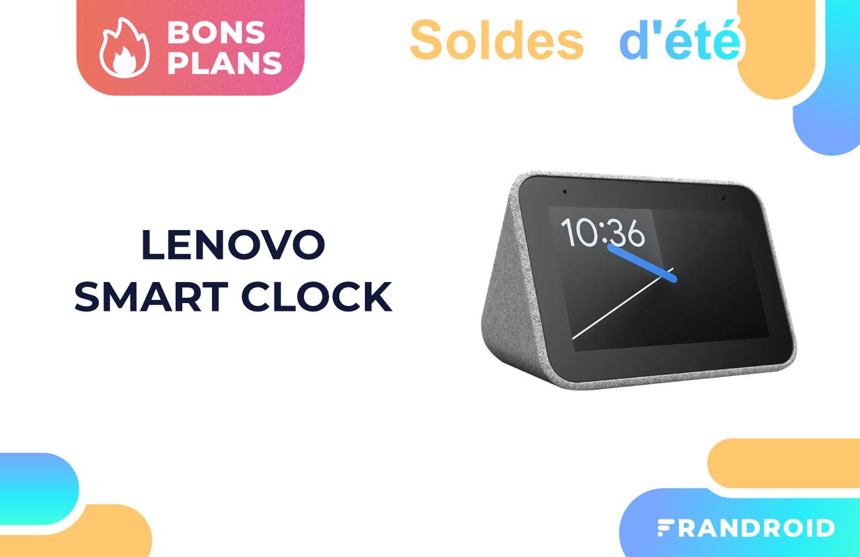 Le Lenovo Smart Clock n'a jamais été aussi abordable que pendant les soldes