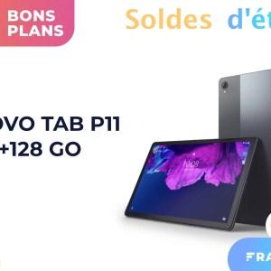 Tab P11 : la tablette familiale de Lenovo est soldée à seulement 219 €