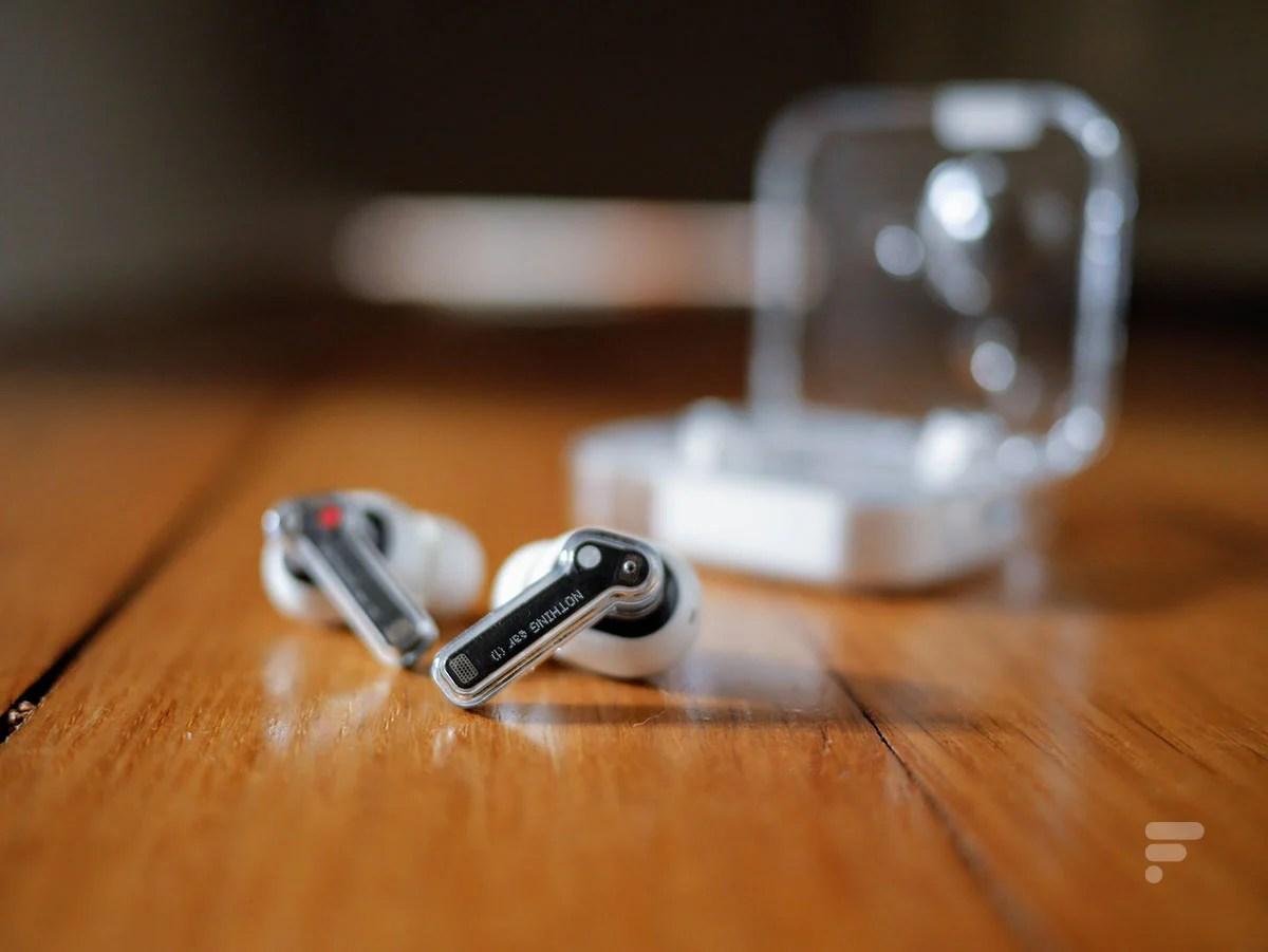 Test des Nothing ear (1) : d'excellents écouteurs, en toute transparence