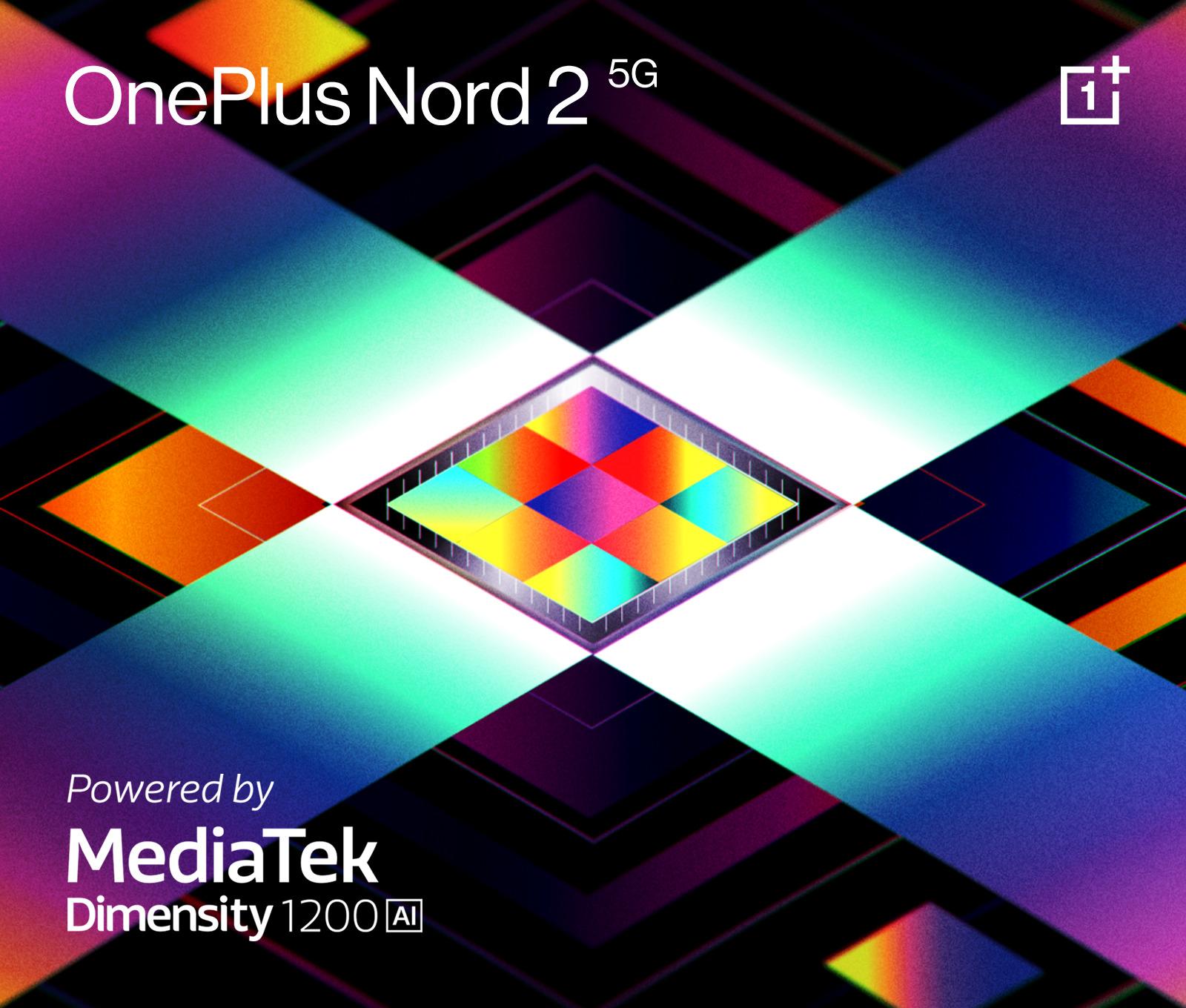 Le OnePlus Nord 2 inaugurera le SoC MediaTek Dimensity 1200-IA