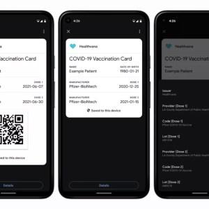 Google: le pass sanitaire pourrait bientôt s'ajouter nativement sur Android