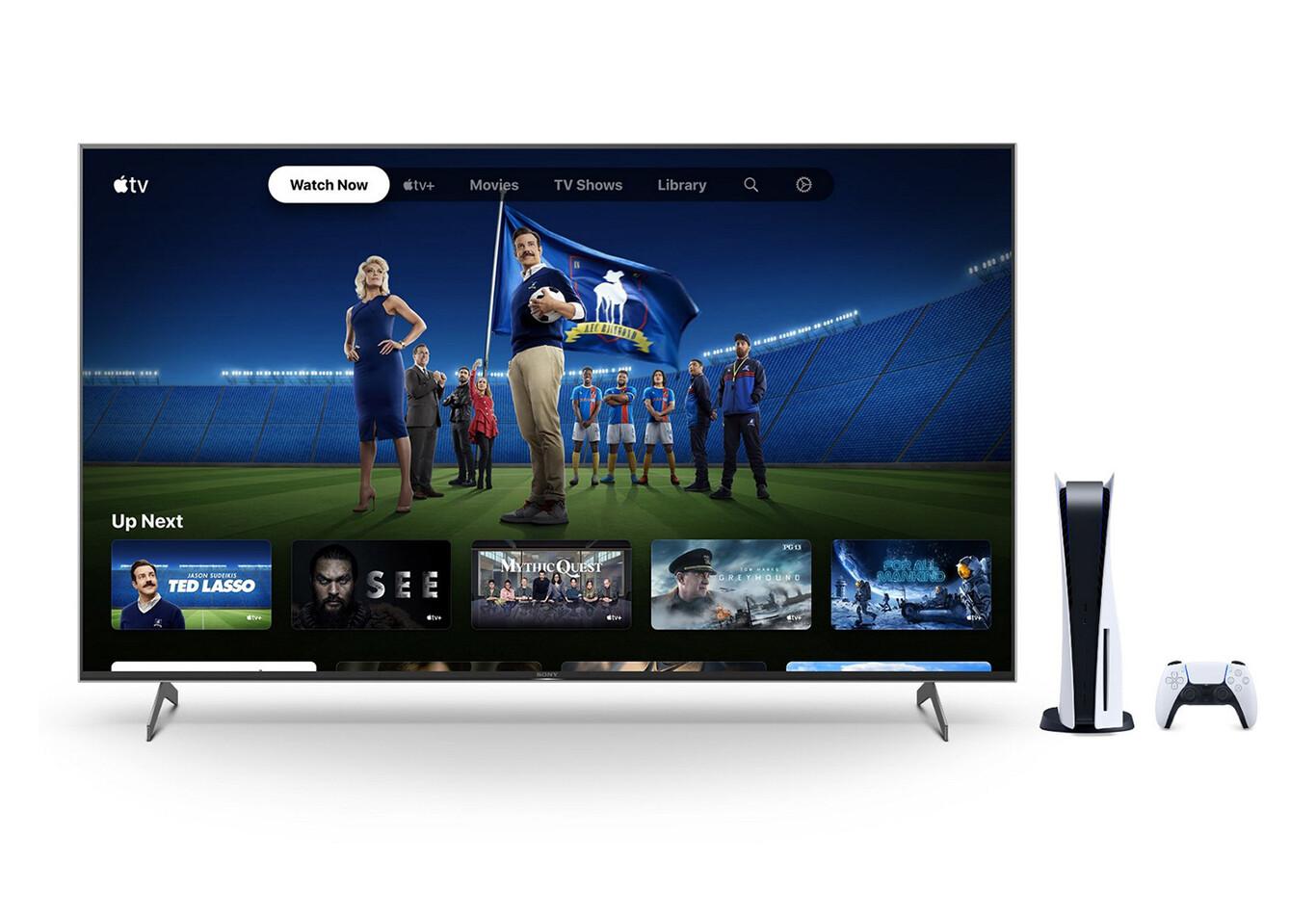 Si vous avez la PS5, vous bénificiez gratuitement de six mois d'abonnement Apple TV+