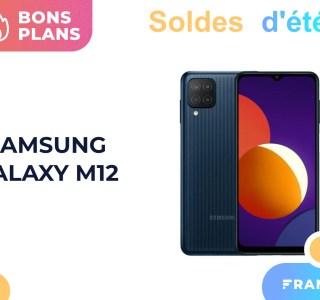 Samsung Galaxy M12 à 129 € : un smartphone pas cher et à jour avec Android 11