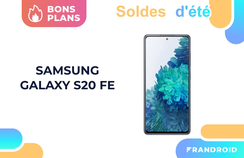 Cdiscount propose le prix le plus bas des soldes pour le Samsung Galaxy S20 FE