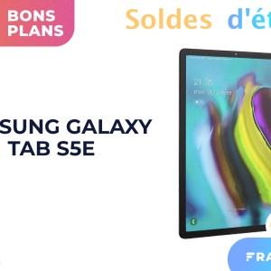 Soldes : la tablette Samsung Galaxy Tab S5E à moins de 379 € chez Boulanger