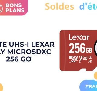 Seulement 34 € pour cette microSD d'une capacité de 256 Go sur Amazon
