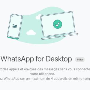 WhatsApp : le mode multi-appareil est là, comment l'installer (en bêta)?