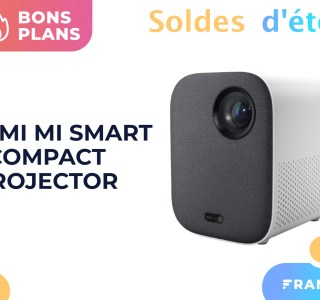 Le picoprojecteur Xiaomi Mi Smart Compact a droit à 150 € de réduction pendant les soldes