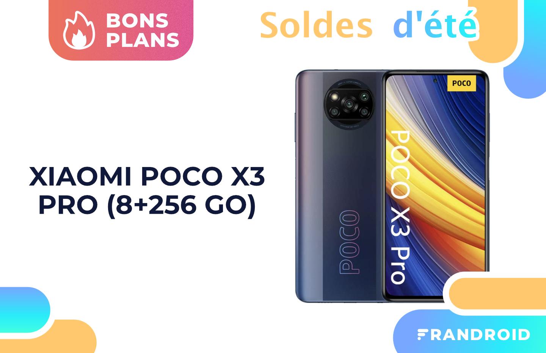 Le Xiaomi Poco X3 Pro est à partir de seulement 189 € pendant les soldes