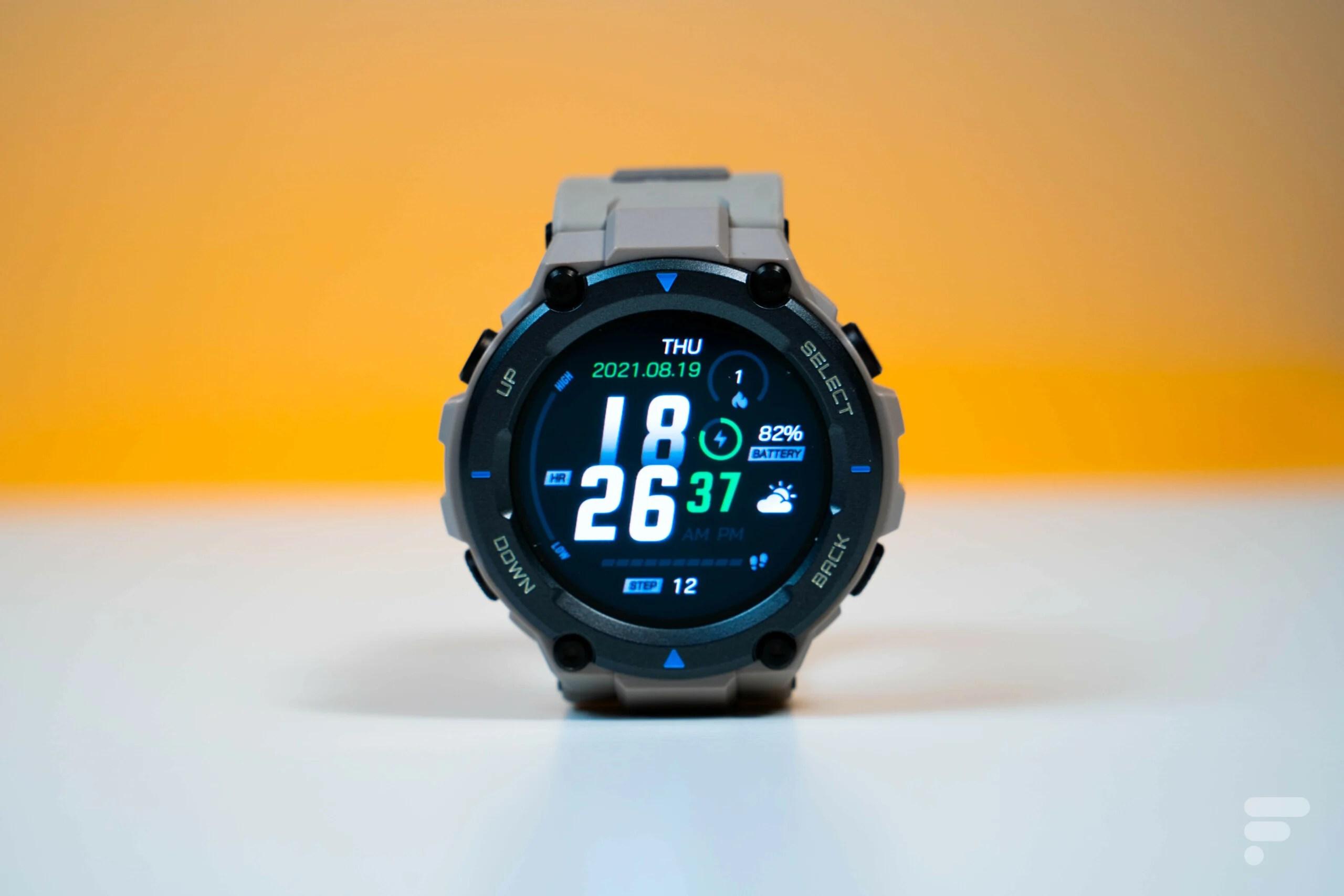 Test de l'Amazfit T-Rex Pro : une montre qui ne se la joue pas petits bras