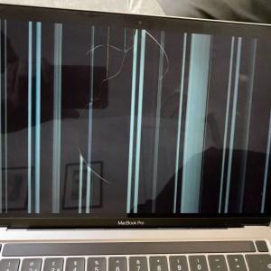 Apple: les écrans de certains MacBookM1 semblent se craqueler sans raison