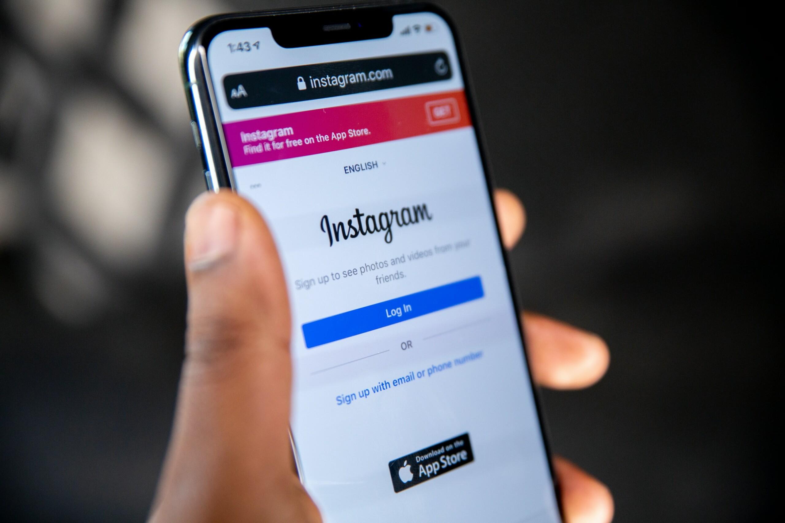 Instagram exige désormais votre date de naissance sinon l'application sera bloquée