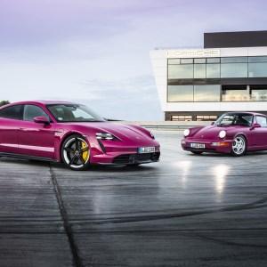 Porsche Taycan 2022 : Android Auto, 25 km d'autonomie en plus et une surprise