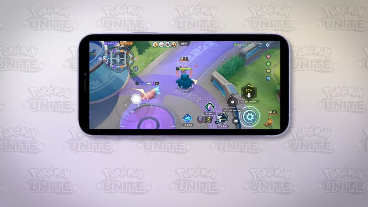 Téléchargez Pokémon Unite sur smartphone pour affrontez vos amis en 5v5