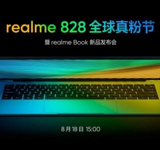 Realme Book: le premier PC portable de la marque sera révélé ce mois d'août