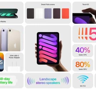 Apple iPad mini 6 (2021) : un iPad Air qui rentre dans la poche