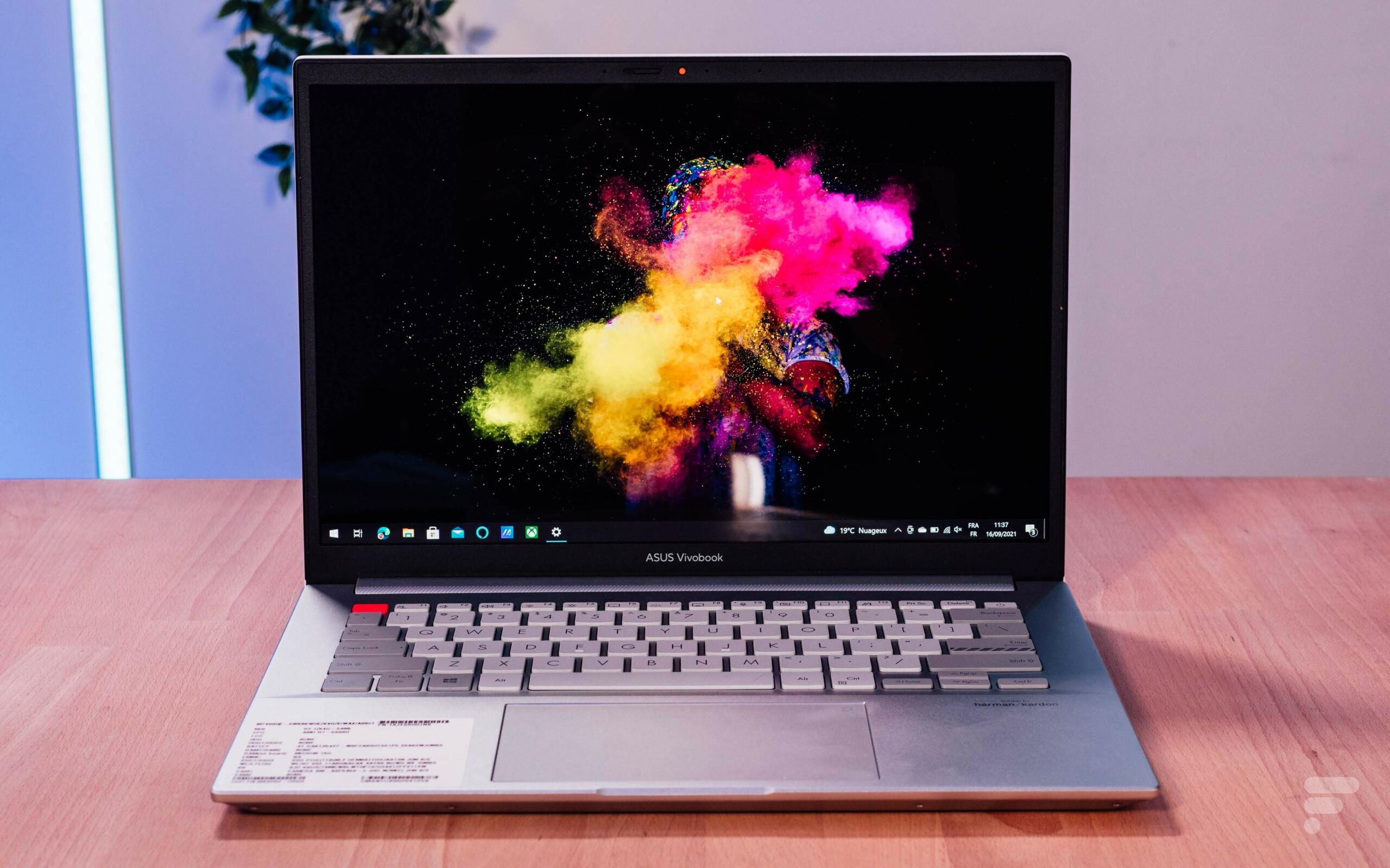 Test de l'Asus Vivobook Pro 14X OLED (M7400) : un écran magnifique et le bon rapport polyvalence/prix