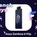 L'Asus Zenfone 8 Flip a droit à 150 € de réduction pour les French Days