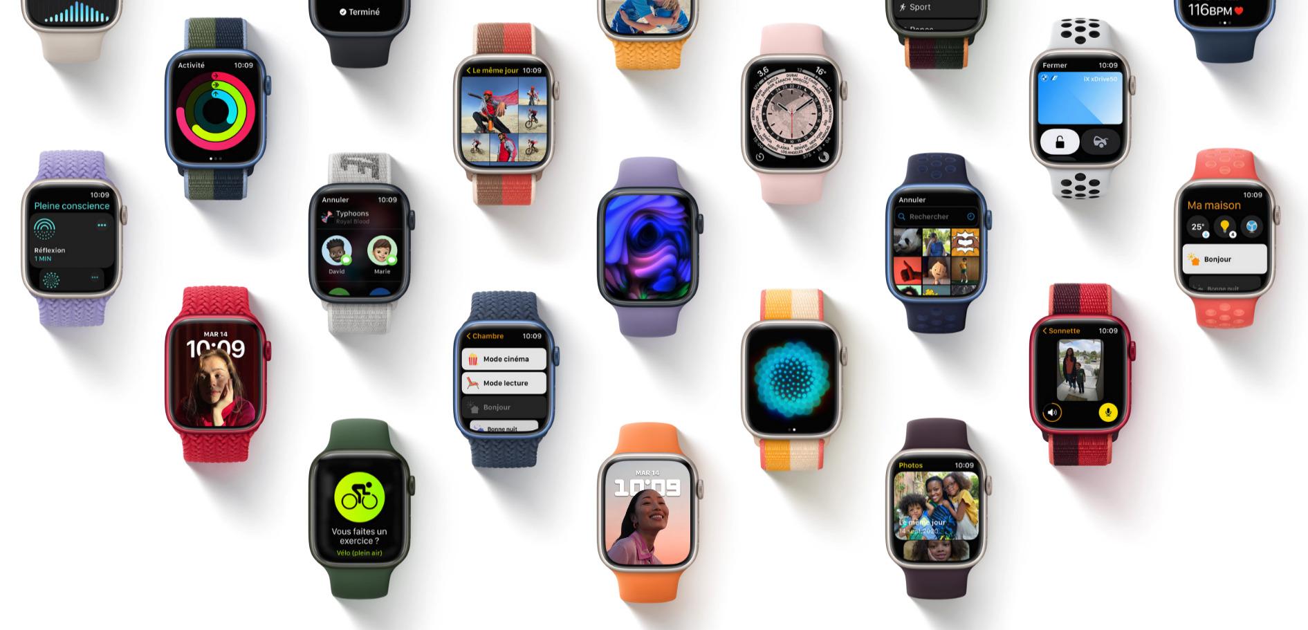 watchOS 8 est disponible sur Apple Watch : ce qu'il faut savoir avant de l'installer