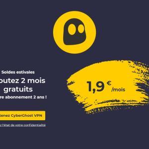 L'offre VPN la moins chère est actuellement à 1,90 €/mois via un abonnement de 2 ans